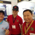 Minyu's 1st Time at PHILCONSTRUCT Manila 2016
