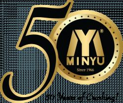 Minyu 50th Anniversary Logo - 50 Years of Crushing!