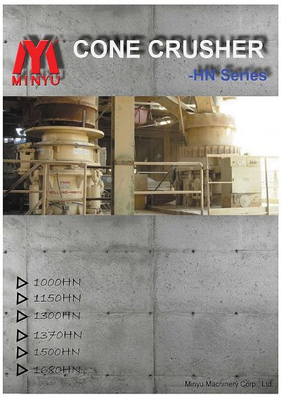Cone Crusher Hydraumatic Nitrogen Minyu Flyer
