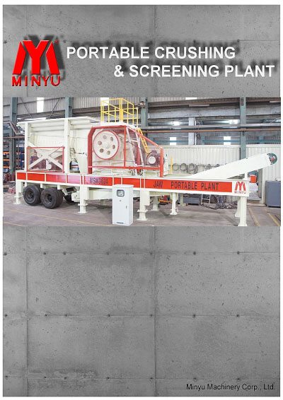 Minyu Portable Crushers and Mobile Trailers - Screening Plant