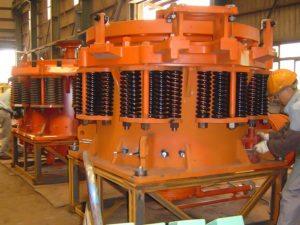 Minyu MCC1300 Hydraulic Chamber Clearing Cylinder Installation