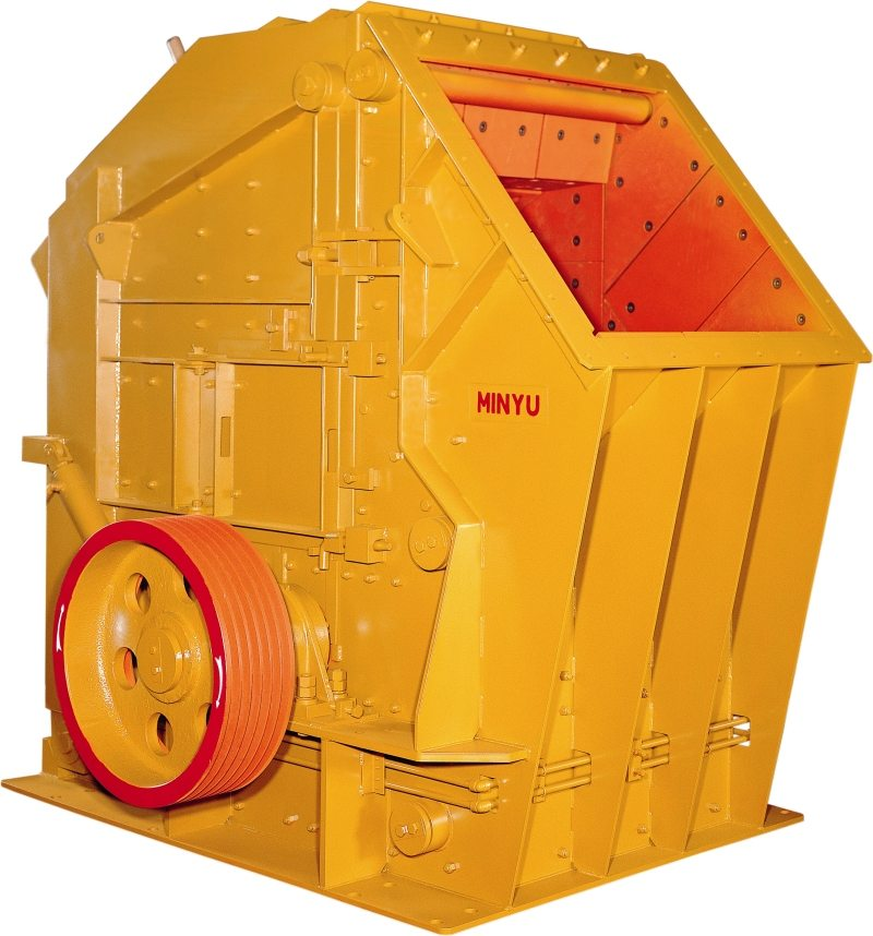 Minyu MIC Impact Crusher: Yellow