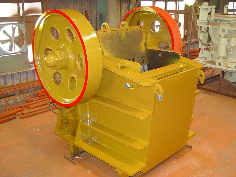 Minyu Jaw Crushers MS in Factory