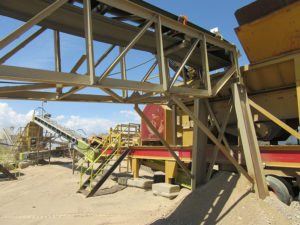 Minyu MS3624 Jaw Crusher on Primary Crushing Plant in Colorado