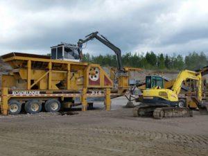 Minyu MS4230 Jaw Crusher in Quebec, Canada