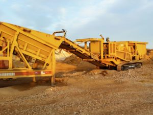 Minyu MIC102152 on Track Mobile Plant, Texas, USA