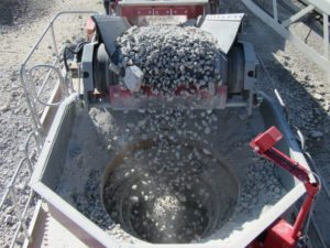 Minyu MSP300 Crushing Chamber