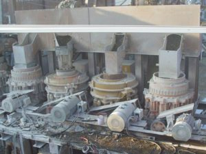 Minyu MSP400 Secondary and Tertiary Crushing Plant