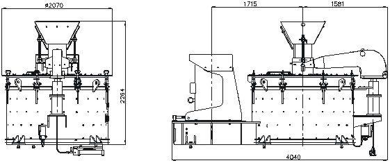 Minyu MIV800: Dimensions