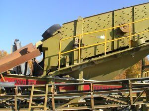 MOP Inclined Vibrating Screen on Plant
