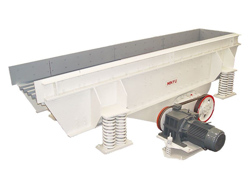 MVGH Horizontal Vibrating Grizzly Feeder - Minyu