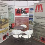 ABL exhibits Minyu Machinery and Striker track crushers and screens at Asogravas 2017