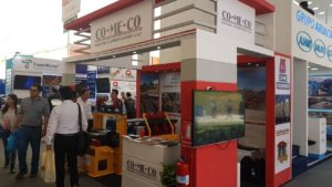 Comeco exhibits Minyu at Perumin 2017