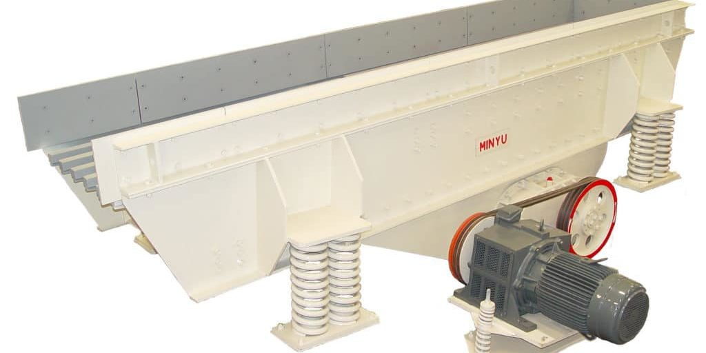 Minyu MVGH Horizontal Vibrating Grizzly Feeder